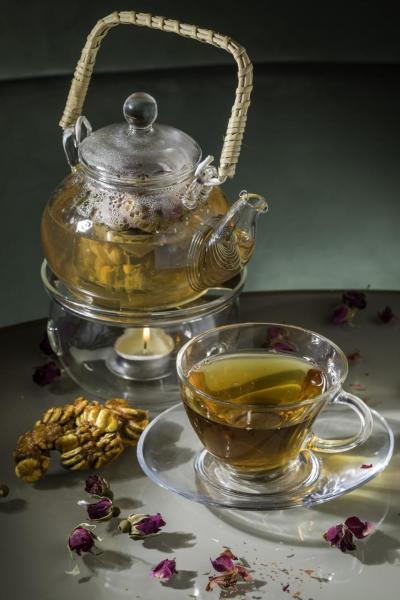 玫瑰菊花羅漢果芯茶