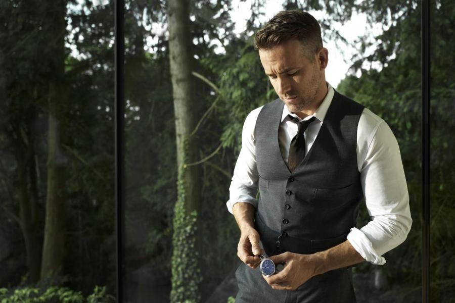 另一代言人,荷里活影星Ryan Reynolds
