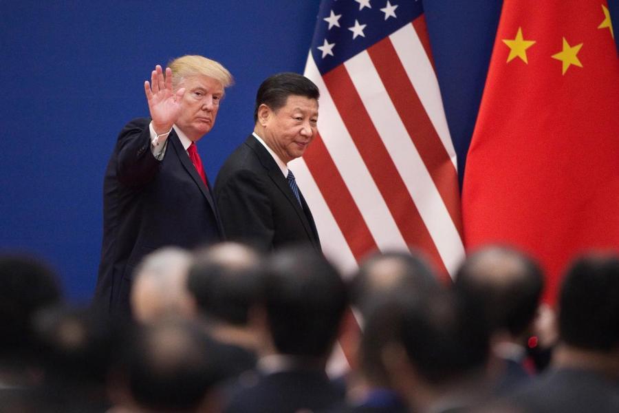 中美貿易戰若持續擴散,料對環球經濟構成負面影響。