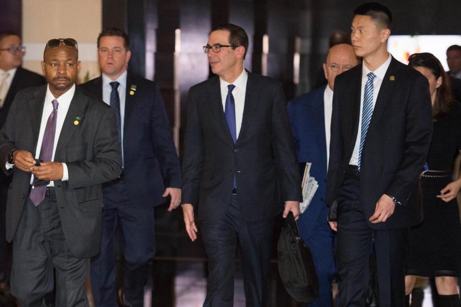 美國高級政府官員訪華行程尚未在中美貿易問題上達到突破性的成果。