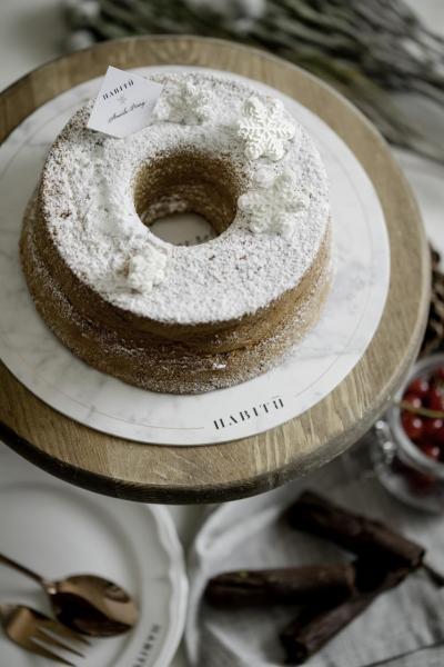 Santa's Chestnut Pound Cake(HK$25)