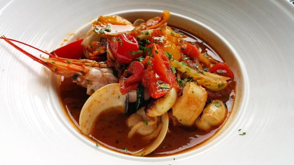 主菜:海鮮湯