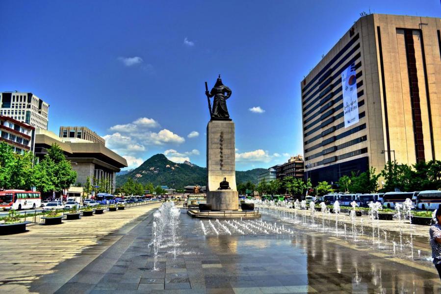 今年三月入境南韓的中國人同比增加百分之十三。