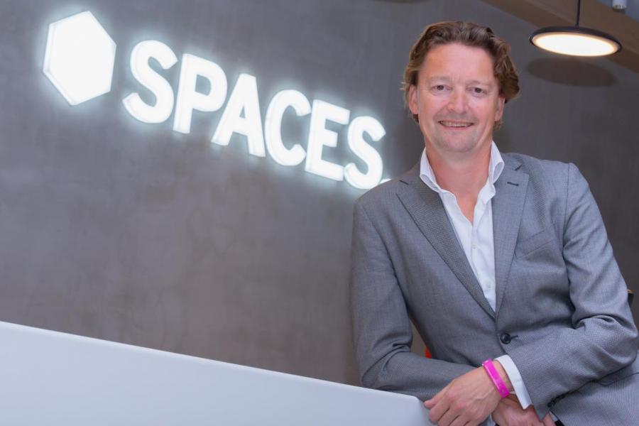 Spaces創始人兼行政總裁Martijn Roordink表示,一場辦公空間革命正在展開。