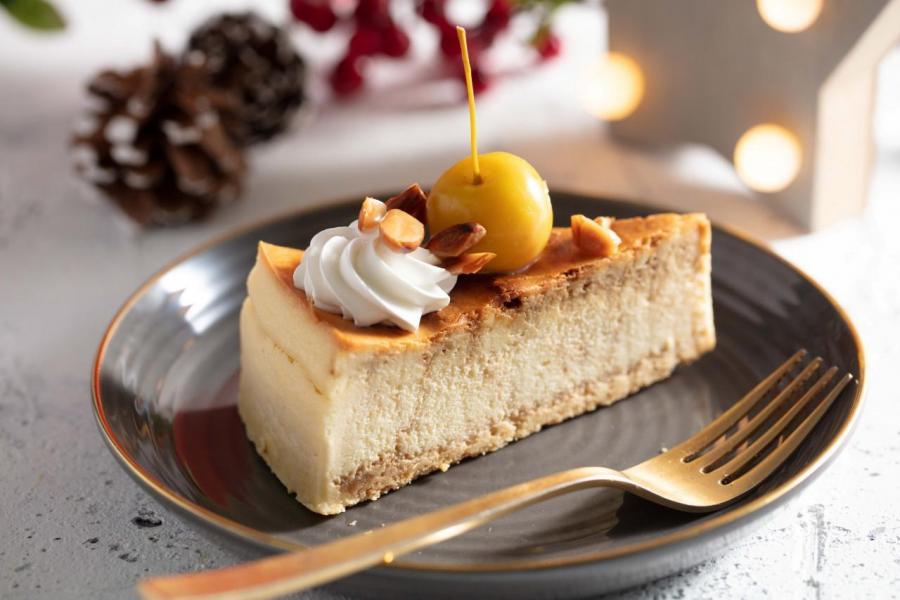 焦糖小蘋果芝士蛋糕