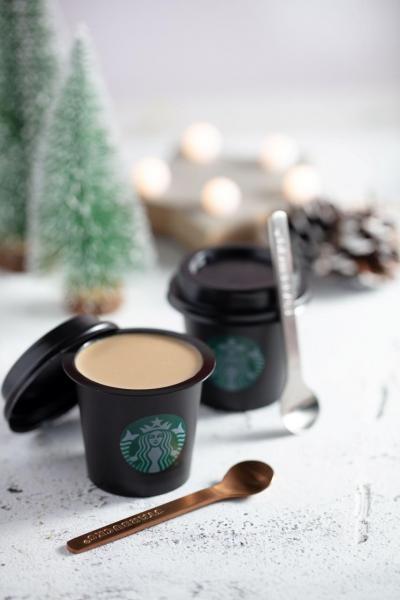 焦糖咖啡布甸