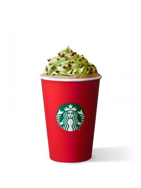 聖誕樹特濃朱古力咖啡(Starbucks)