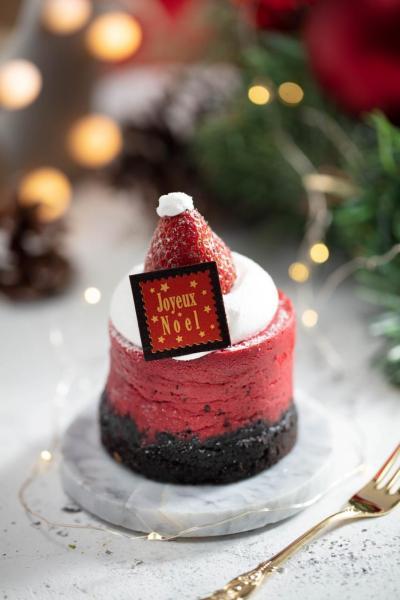 紅絲絨朱古力曲奇芝士蛋糕