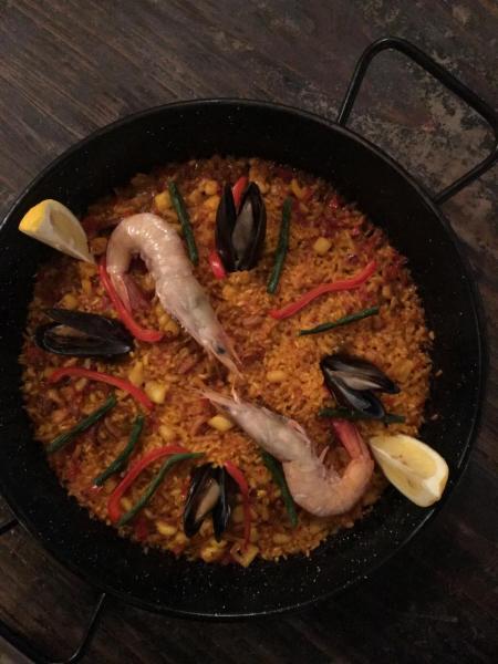 傳統西班牙海鮮Paella