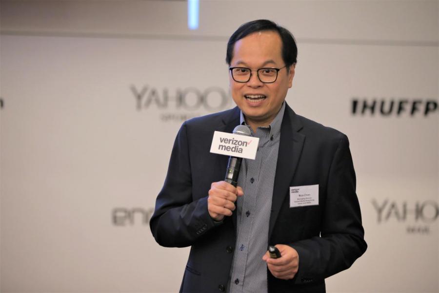 Verizon Media 香港、日本及東南亞印度地區董事總經理陳啟滔