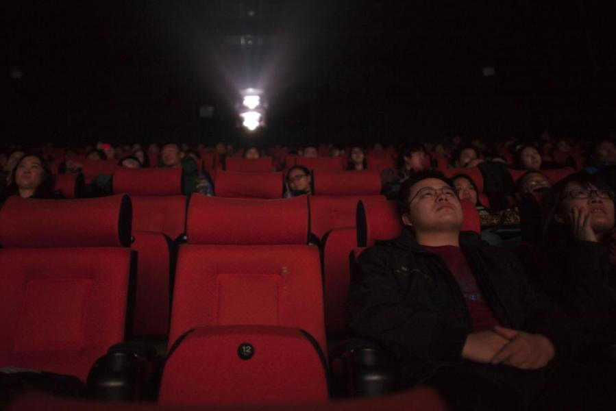 內地電影業近年呈噴井式增長,去年票房逾六百億人民幣。