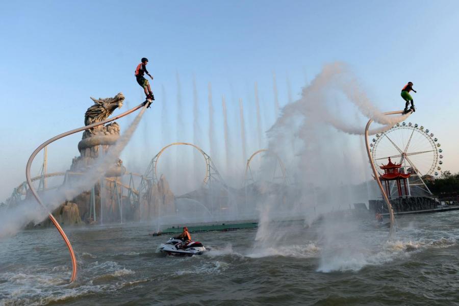 電影主題公園可以成為另一個吸金的途徑。