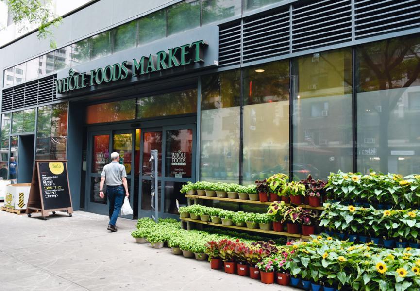 Whole Foods Market於美國擁有四百四十四家分店,覆蓋美國七成人口。