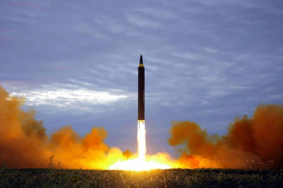 去年北韓瘋狂試射導彈,嚇窒全球。
