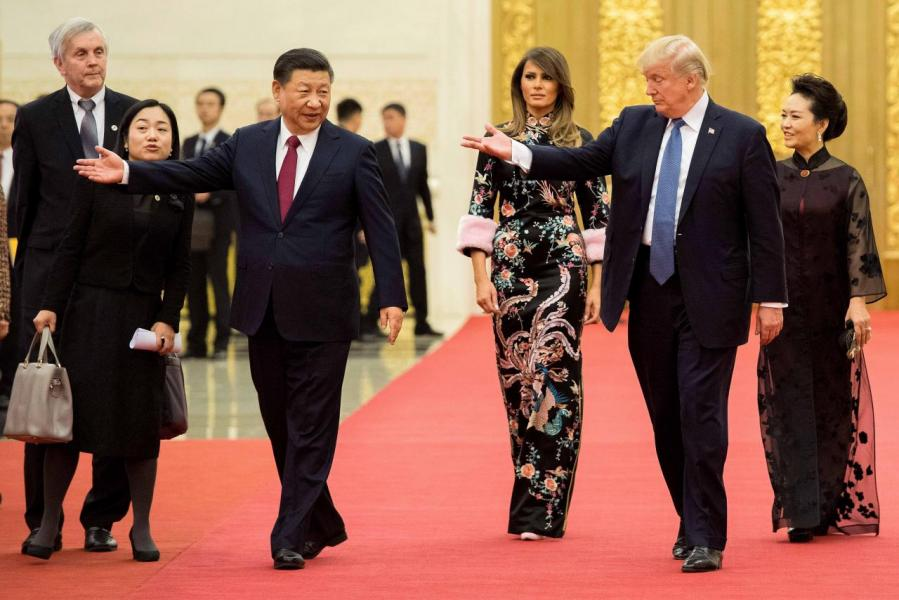 習特會期間,中美兩國簽署總額高達二千五百多億美元的商業合同和雙向投資協定。
