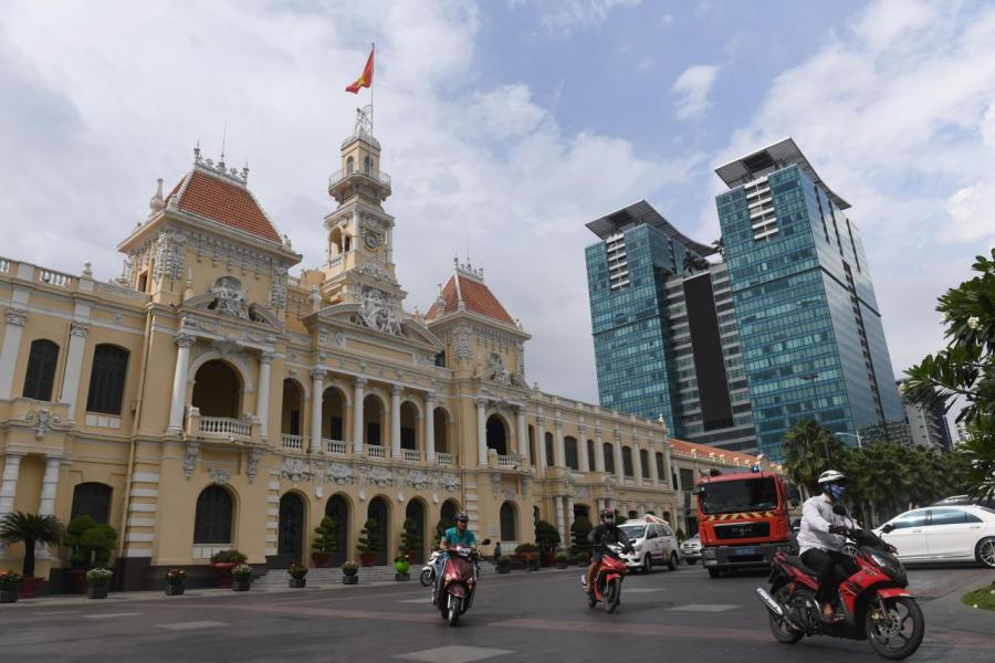 自越南新房地產法實施後,胡志明市樓價已錄得按年10%升幅。