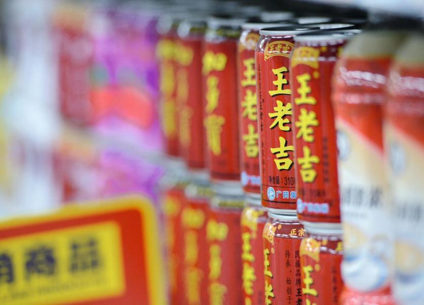 涼茶品牌王老吉在全球銷售網點已超過千萬家。