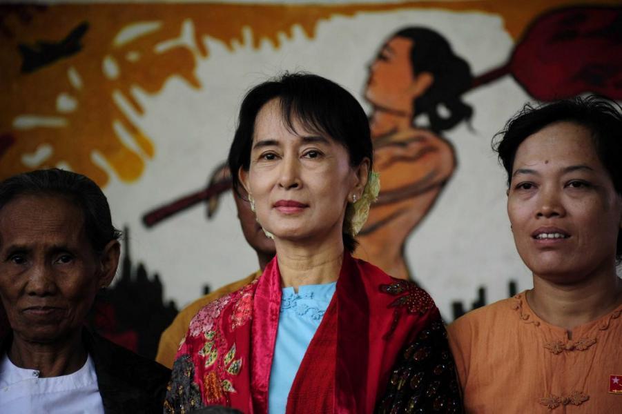緬甸國務資政昂山素姬住在茵雅湖南面University Avenue Road一帶。
