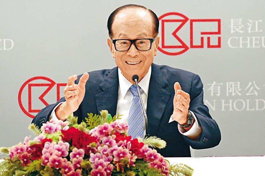 根據彭博億萬富翁指數,現時長和主席李嘉誠總資產為三百六十三億美元。
