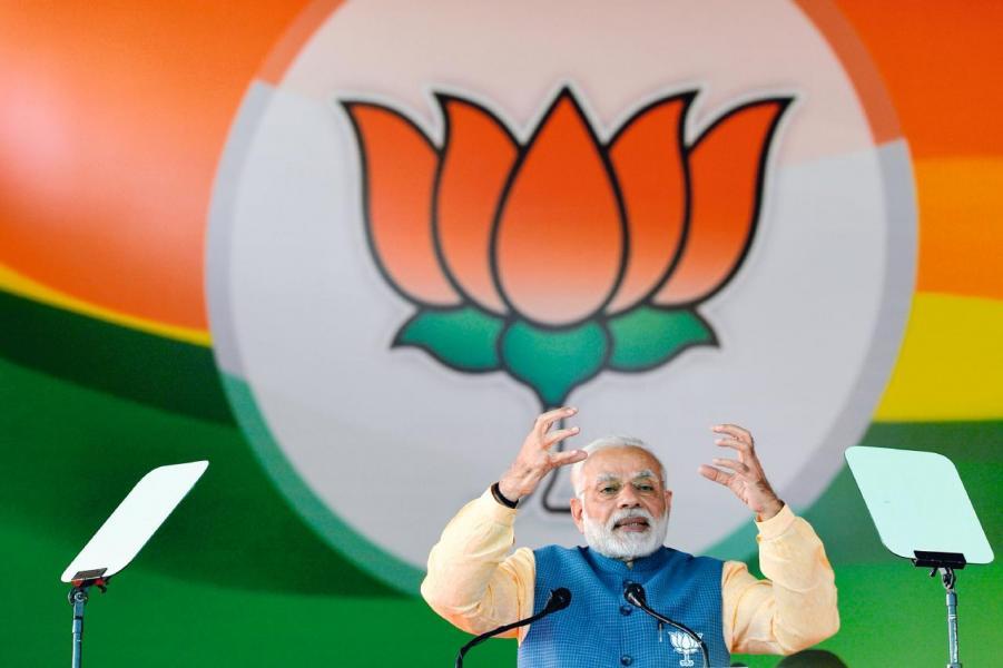 印度政府曾把比特幣比喻為「龐氏騙局」(圖為該國總理莫迪)。