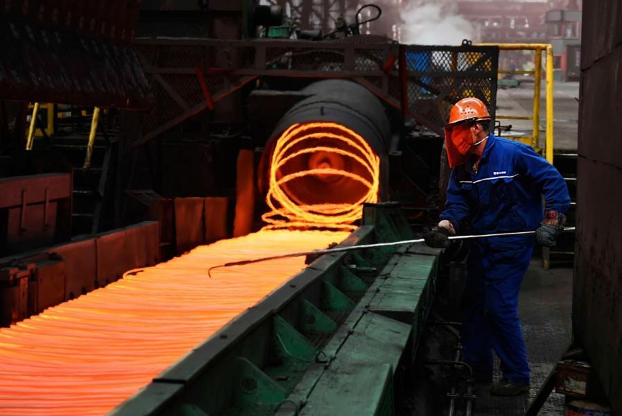 特朗普頒布行政指令,向進口鋼鐵徵收百分之二十五關稅。