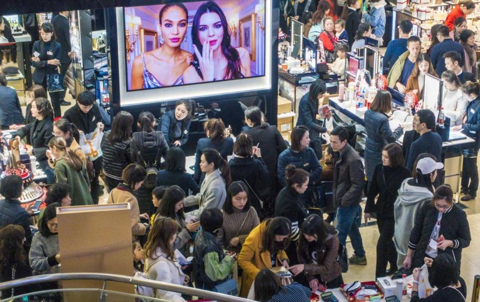 中國人口龐大,消費力不斷增長,為不少美國企業的重要銷售市場。
