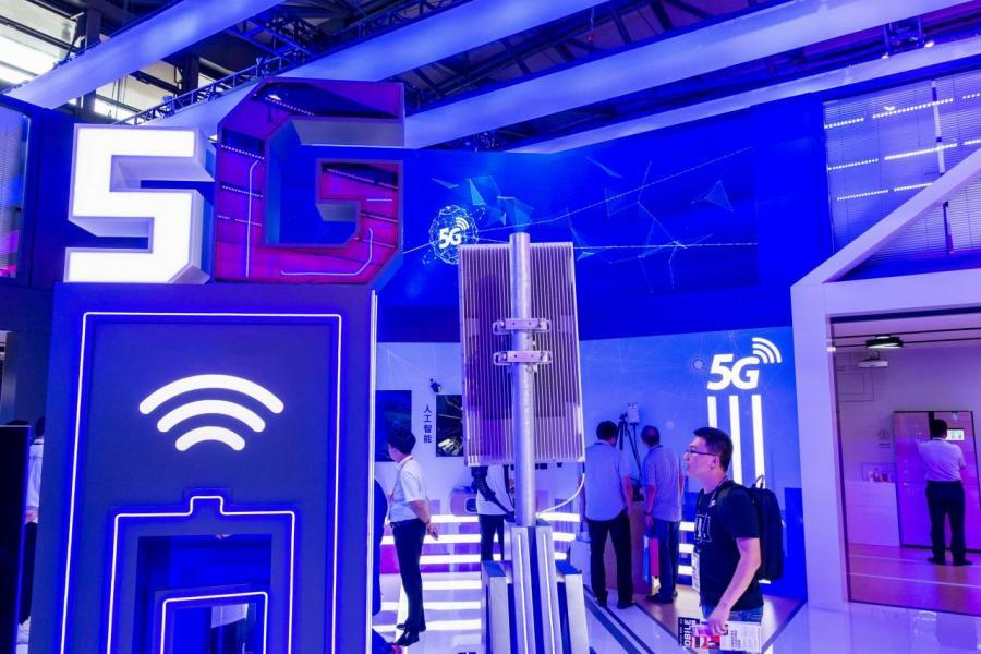 香港計畫在二○年推出5G服務。