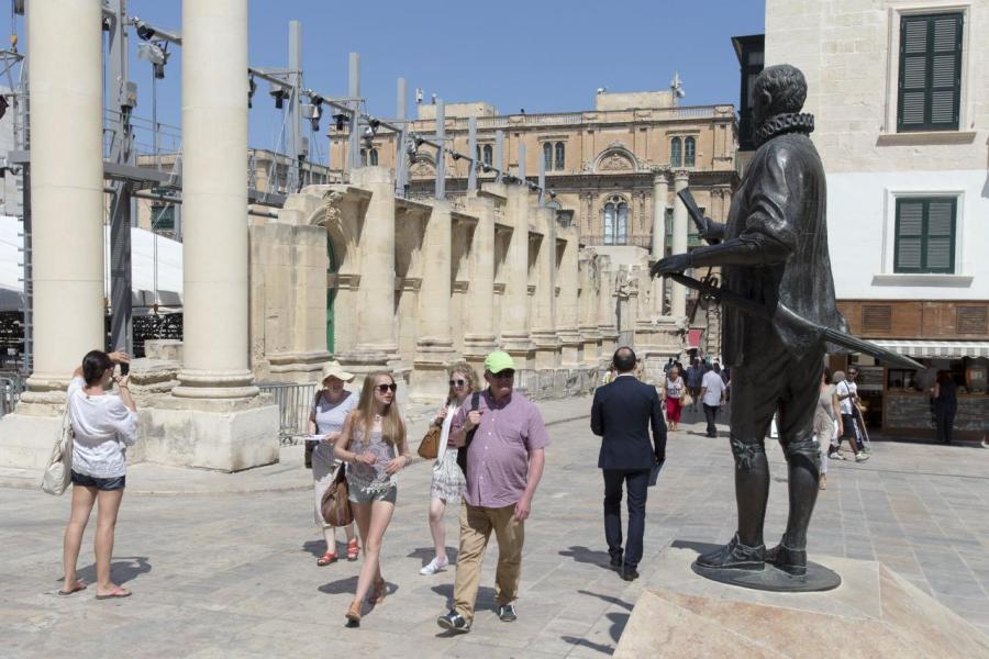 馬爾他1年幾乎所有日子都是陽光普照,吸引很多歐洲人在當地度假。