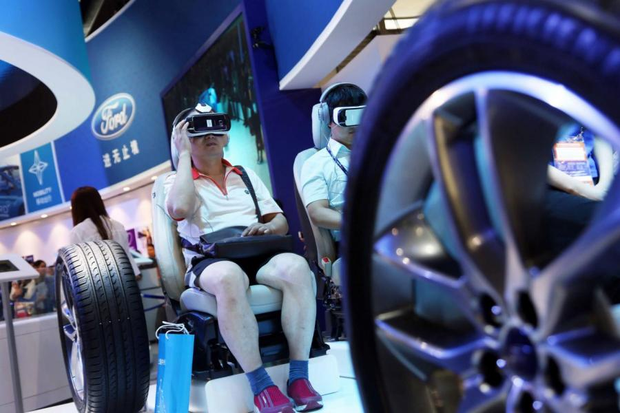 網速的提升,令VR等新技術大派用場。
