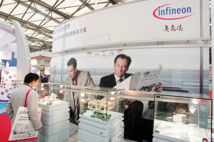 中國IGBT市場有九成的分額掌握在英飛凌、三菱等海外巨頭手中。