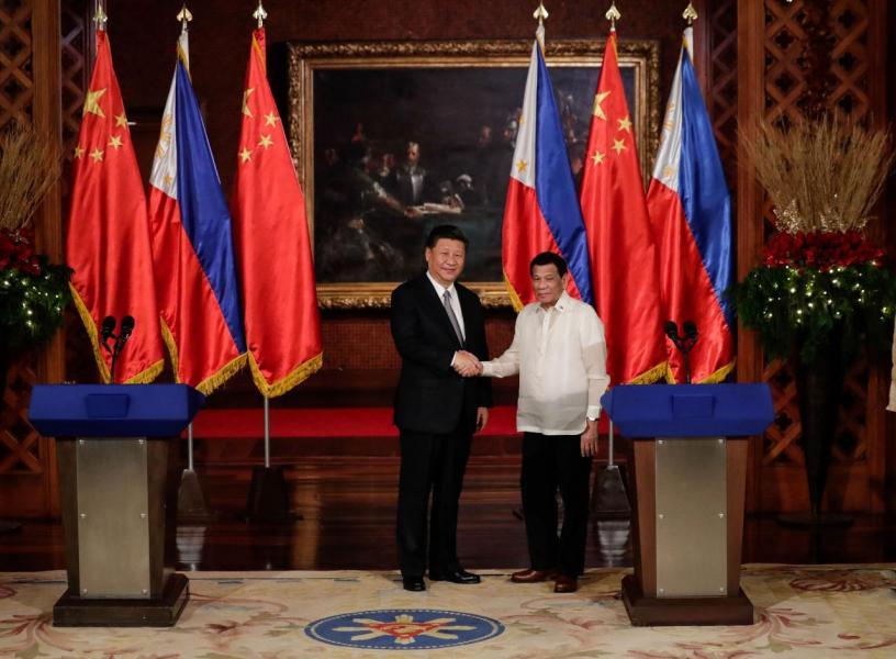 今年中國國家主席習近平訪問菲律賓時,中菲兩國共簽訂了29項經濟協議。