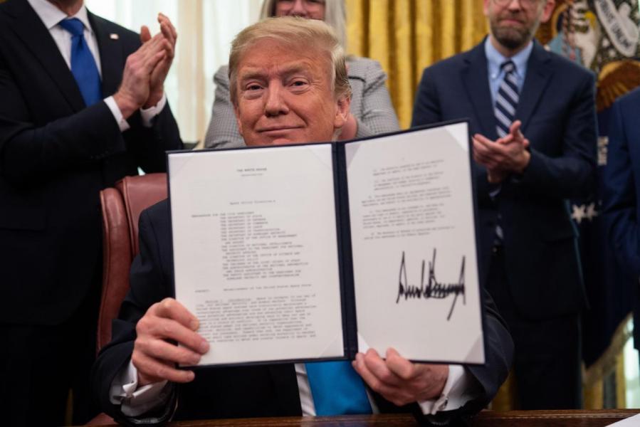 特朗普早前簽署法案,重啟美國的太空計畫。