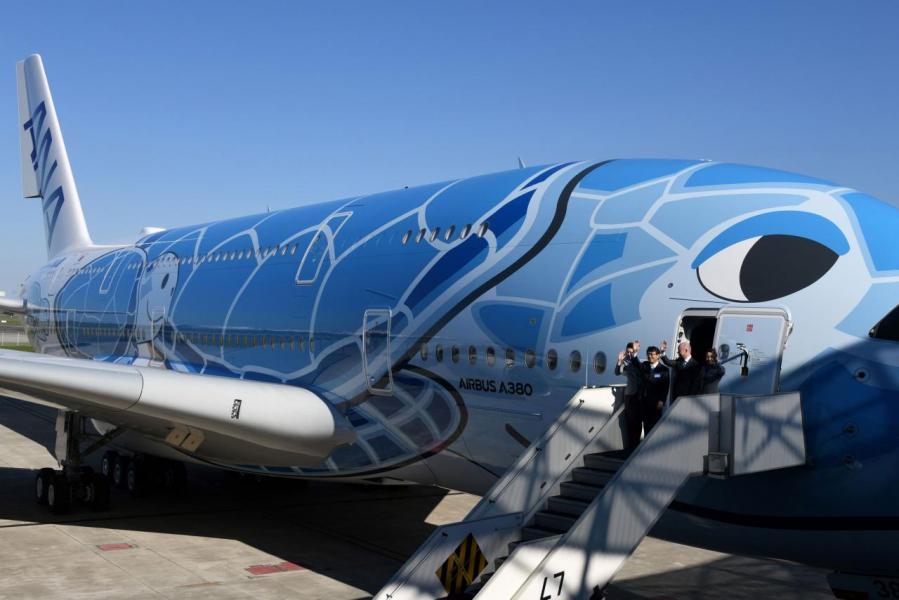 中國將向法國的空中巴士訂購多達三百架客機。