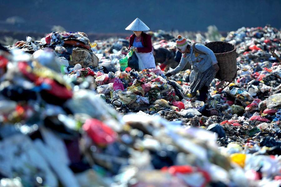 二○一八年,中國的電子回收產業價值達到六百六十四億人民幣。