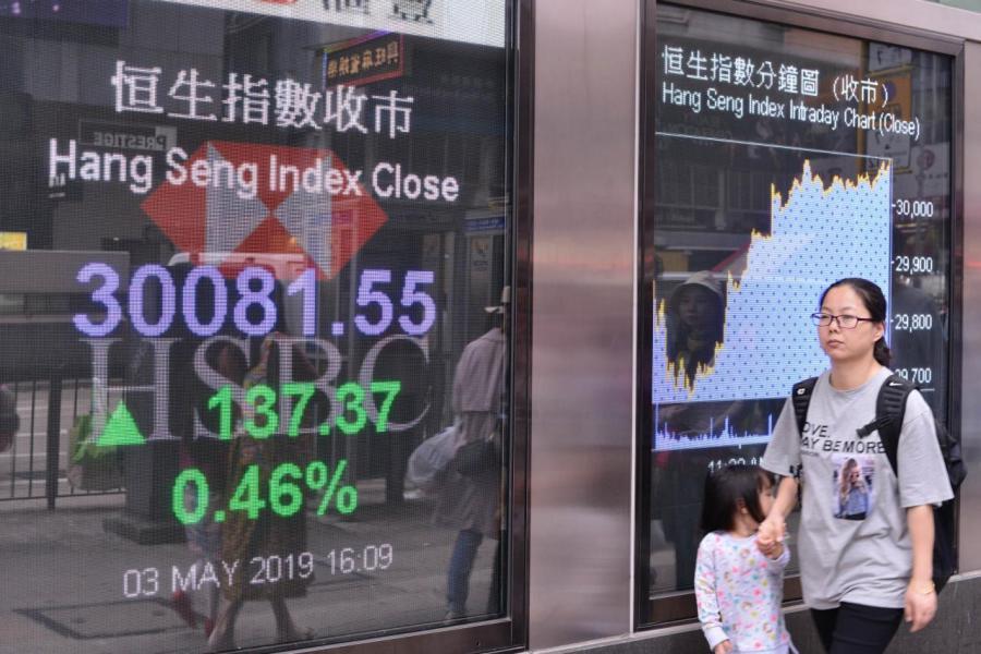 5月首週港股做好,恒指重上3萬關口,市場一度憧憬五窮魔咒可破。