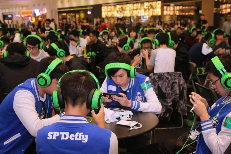 現場有過百名學生參與, 比賽為期兩日,於荃灣D·PARK愉景新城舉行。