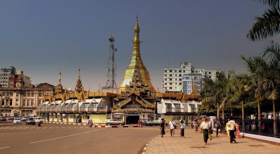 緬甸的2017-18年度經濟增長預測為6.4%。