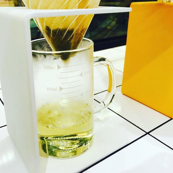 原味抹茶配台灣素韾綠茶